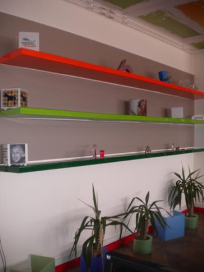 Mensole Plexiglass Colorate.Neon Ve La Web Site